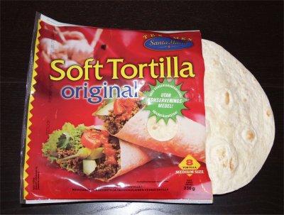 Tortillat jauhelihatäyte