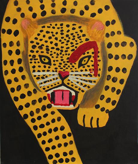 Aleksiina Salmi: Leopardin katse
