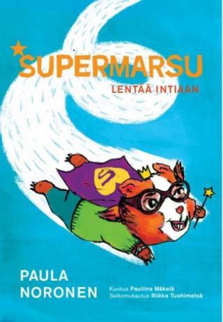 Kuvassa on Supermarsu -kirjan kansi.