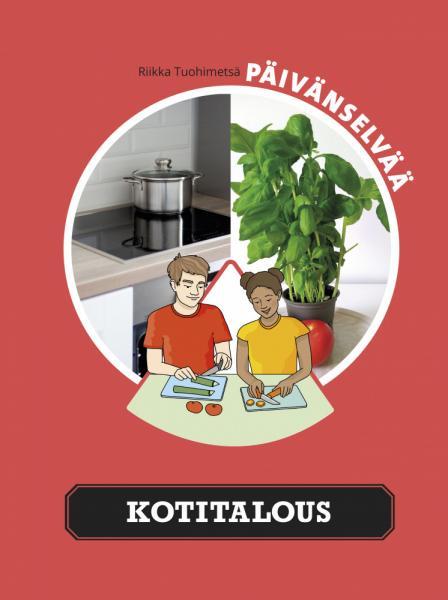 Kuvassa on Päivänselvää kotitalous -kirjan kansi.