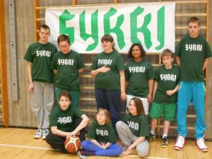 Toinen kuva Sykin Unified-joukkueesta