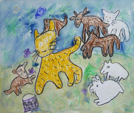 Kuvassa on Marita Siposen teos Ystävät ja viholliset.