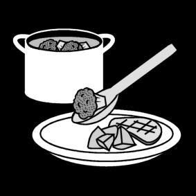Annostella ruokaa