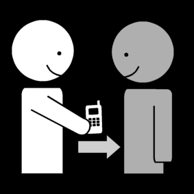 Antaa matkapuhelin