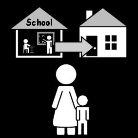 Hakea lapsi koulusta