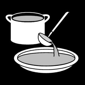 Annostella keittoa