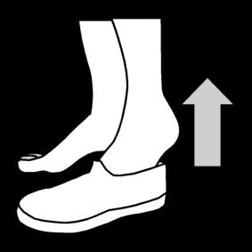 Ottaa voimistelutossut pois jalasta