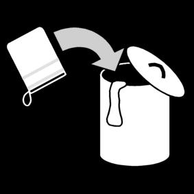 Laittaa pesukinnas pyykkikoriin