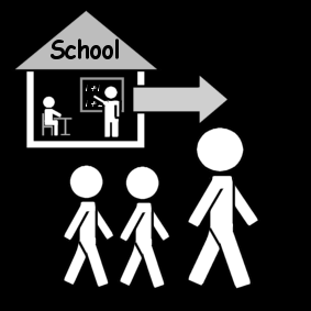 Hakea lapset koulusta