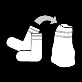 Laita sukat pareittain