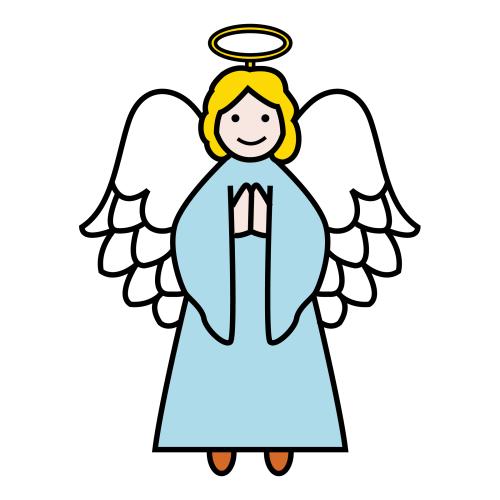 enkeli piirros