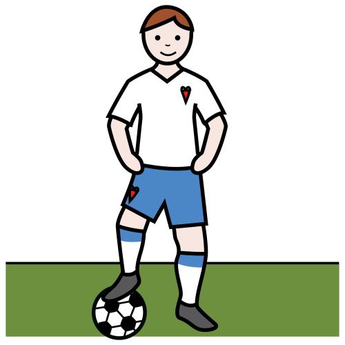 fotbollsspelare och författare