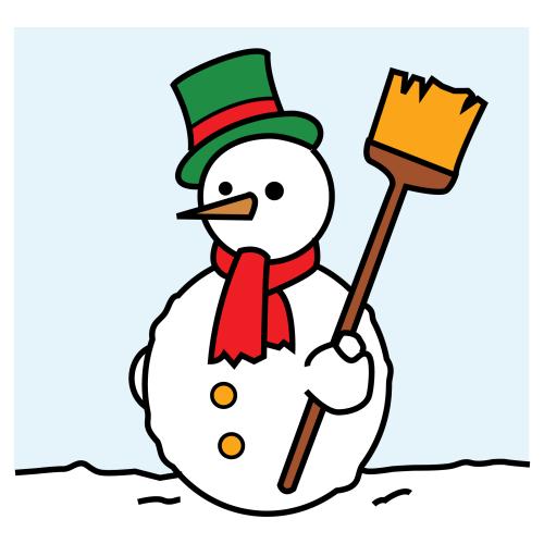 Piirretty Lumiukko