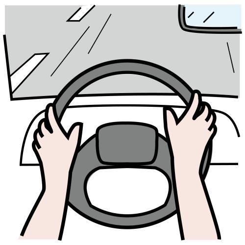 Ajaa autolla