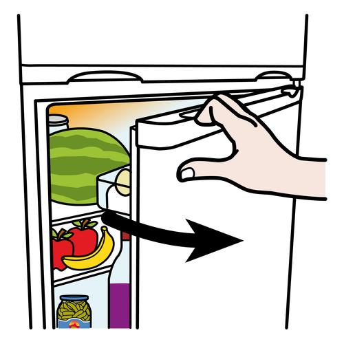 Avata jääkaappi