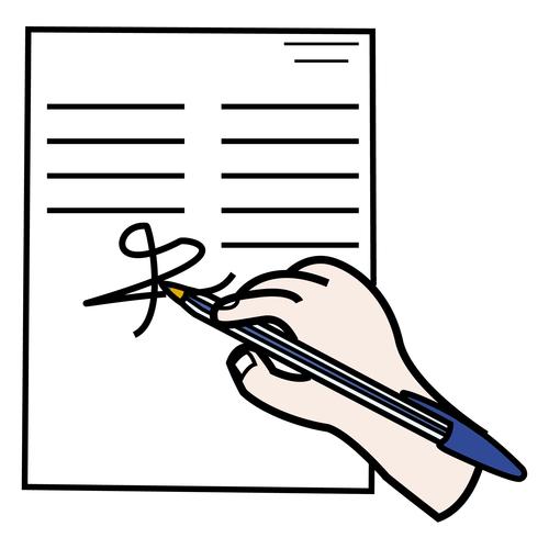 Allekirjoittaa
