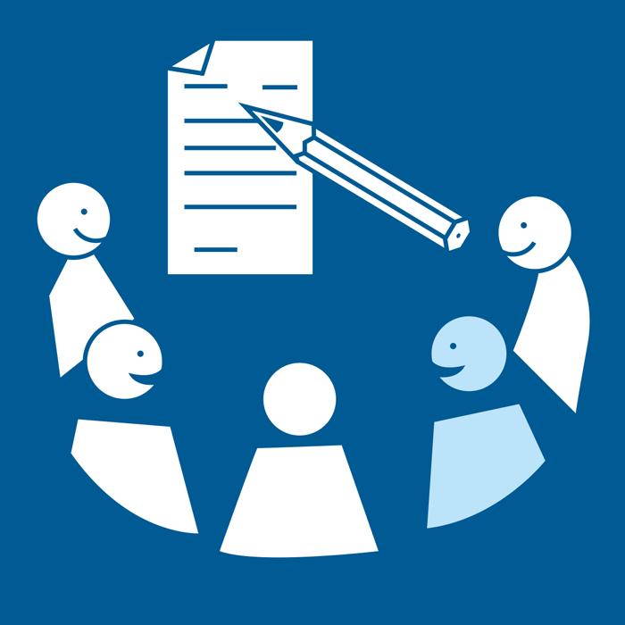 Allekirjoittaa sopimus yhdessä