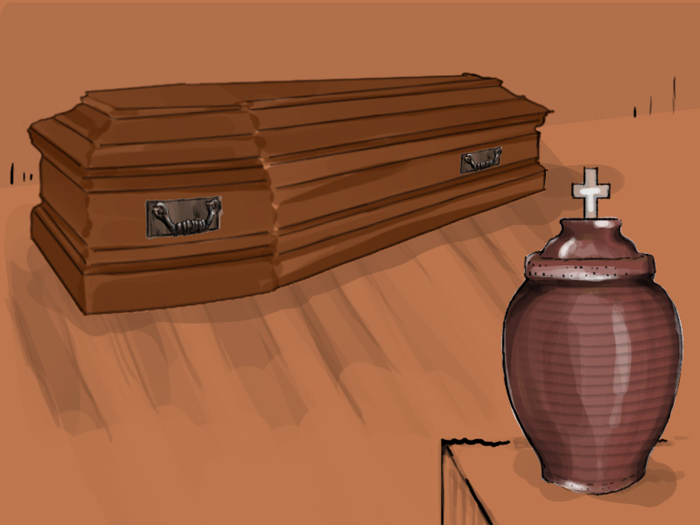 Hautajaiset 03