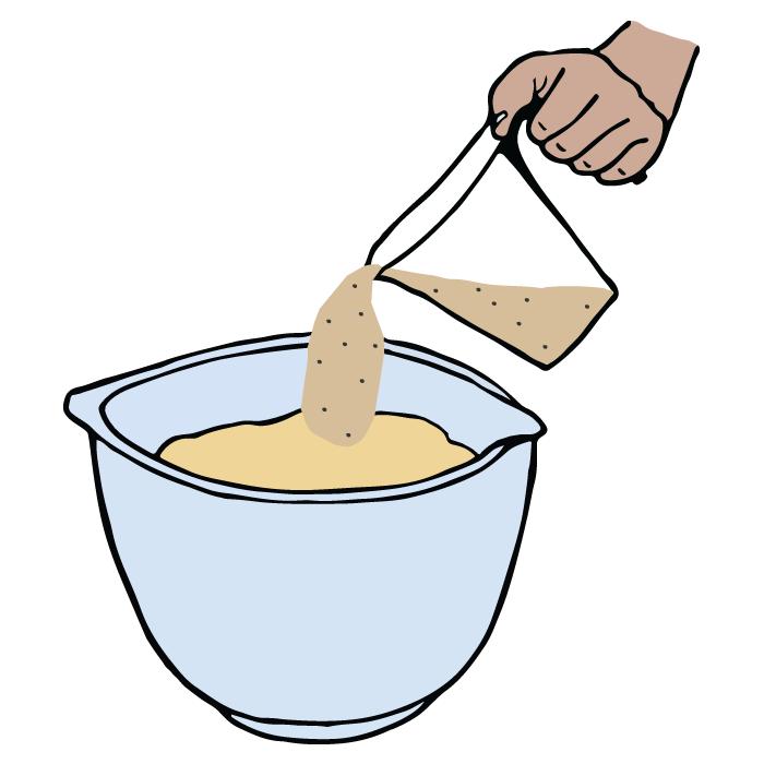 Lisätä jauhoja