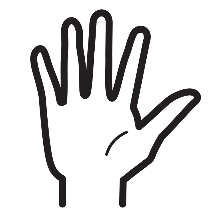 Piirretty Käsi