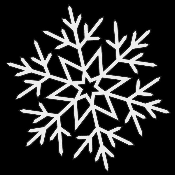 Lumihiutale Piirretty