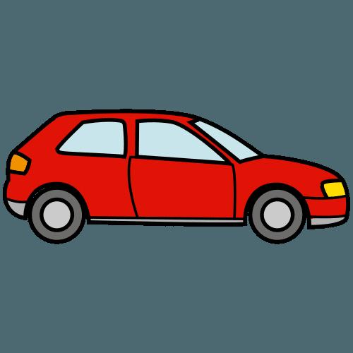 Auto Piirretty