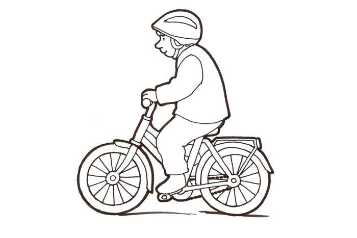 Ajaa pyörällä
