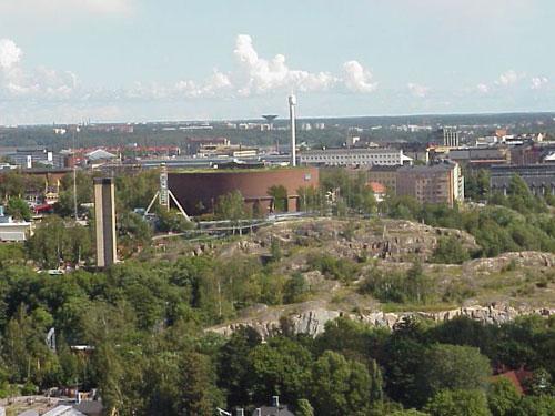 Näkymä Linnanmäelle