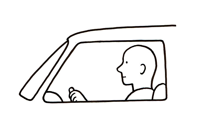 Ajaa autoa