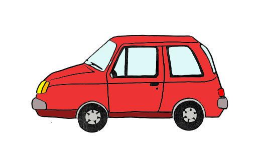 Piirretty Auto