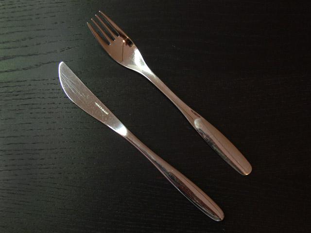 Haarukka ja veitsi