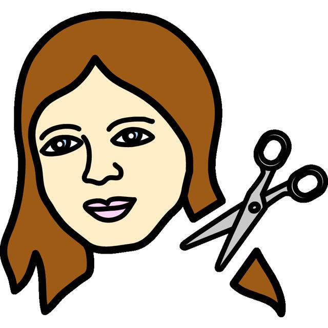 Leikata hiukset