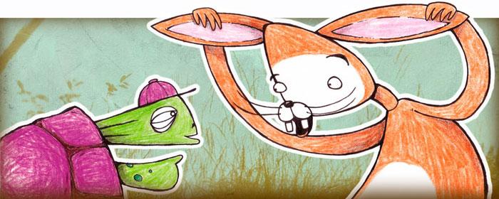 Jänis ja kilpikonna d