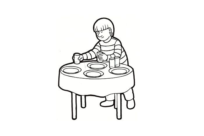 Kattaa pöytä