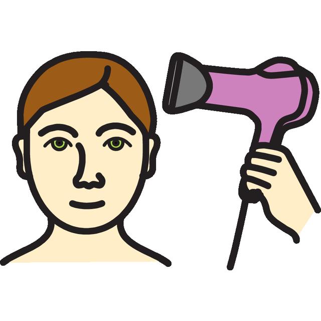 Kuivata hiukset