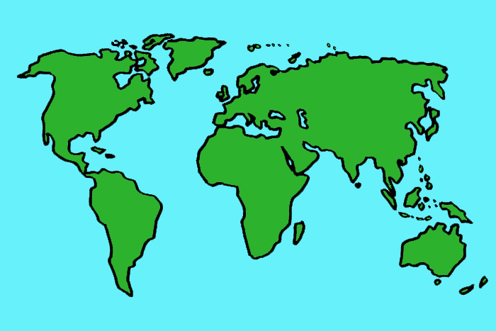 Maailman Kartta Papunet