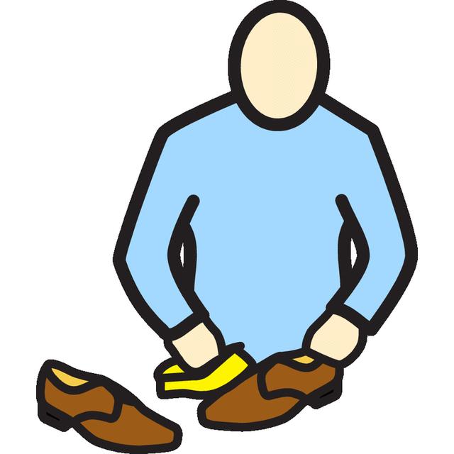 Puhdistaa kengät