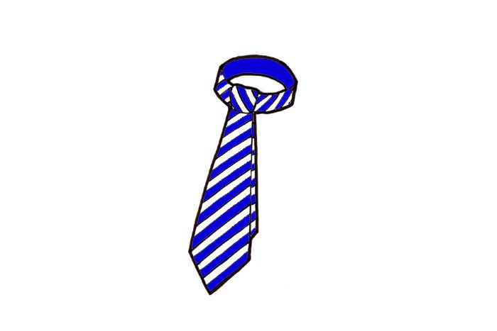 hautajaiset kravatti väri
