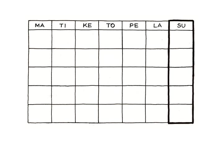 Kalenteri Pohja