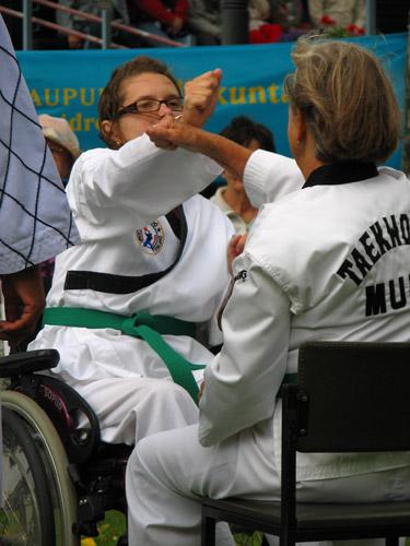 Taekwondo torjunta