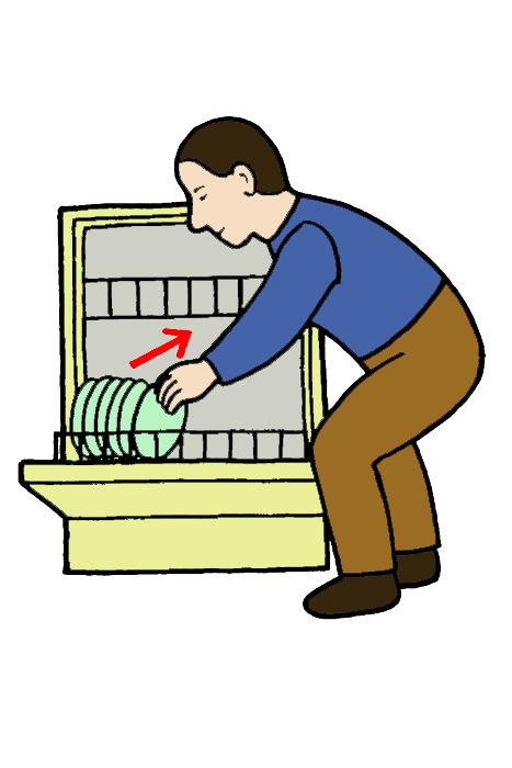 Tyhjentää tiskikone
