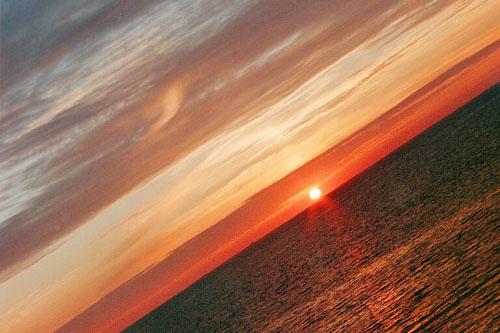 Ilta-auringon kajo