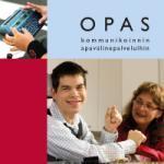 kansikuva oppaasta kommunikoinnin apuvälinepalveluihin
