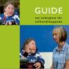 Omslagsbild på tolkningstjänstguide för talhandikappade.