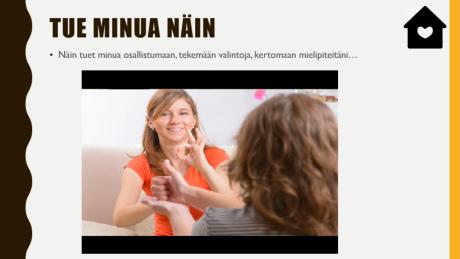 näkymä digipassin sivusta, jossa on videoleike