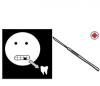 Piirroskuva hampaanpoistosta.