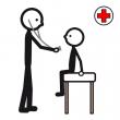 symbol för läkare