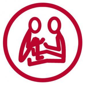 Voimauttavan vuorovaikutuksen logo