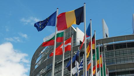 Eu-maiden lippuja.