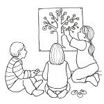 Piirroskuva nappitaulusta